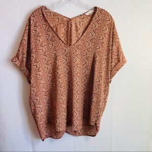 Lush woman's boho blouse